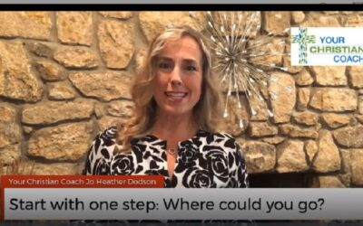 Start with one step: Where could you go?