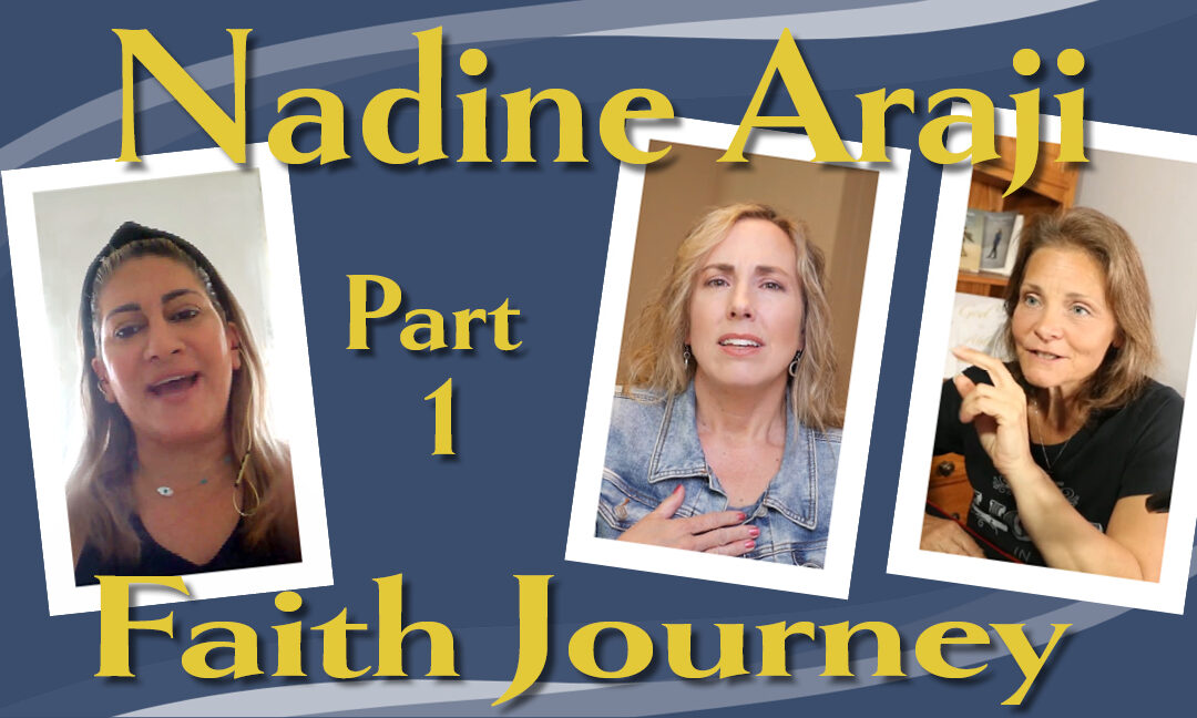 Nadine's faith journey: From growing up in war to finding Jesus